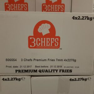 3 Chef Fries 7mm